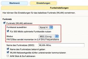 Mehr Reichweite mit Macbook Pro und Fritzbox WLAN 2