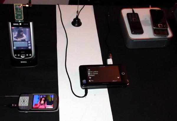 Tragbares Fernsehvergnügen auf dem MWC'09: MobileTV von Axyel