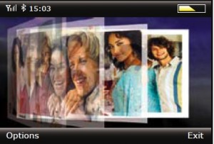 iTunes Clover Flow auf einem Moblin-MID: Scalado macht's möglich