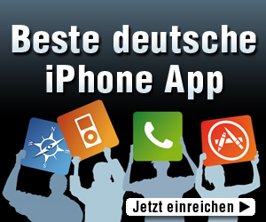 Beste deutsche iPhone-App 2011