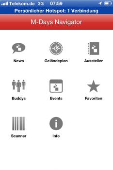 Die iPhone-App zur Konferenzmesse mit Macken