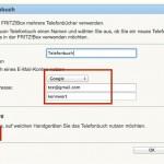 Howto: Per Fritzbox 7390 und DECT-Telefon iCloud- und Google-Kontakte anrufen 2