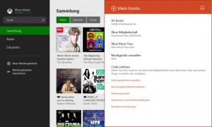Windows 8.1 - Mit Xbox Music Pass gelangen Musikinhalte via Cloud auf verbundenen Geräten
