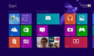 Windows 8.1 - alles noch da, sogar die App-Gruppen