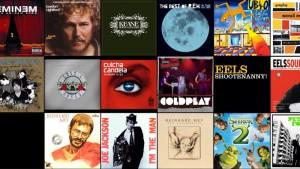 iOS 7 - kein Cover Flow mehr, dafür kachelartige Album-Cover