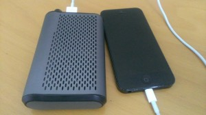 iconBIT PSS990 BT und iPhone5