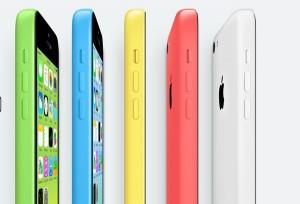 Das iPhone 5c- Fünf Farben auf einen Streich