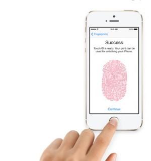 Das iPhone 5s wird die Biometrie salonfähig machen