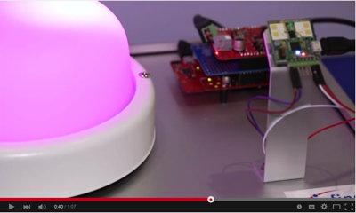 Infineon Sense2Go demo @Embedded World 2015