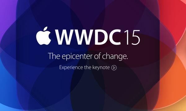 Apple WWDC 15