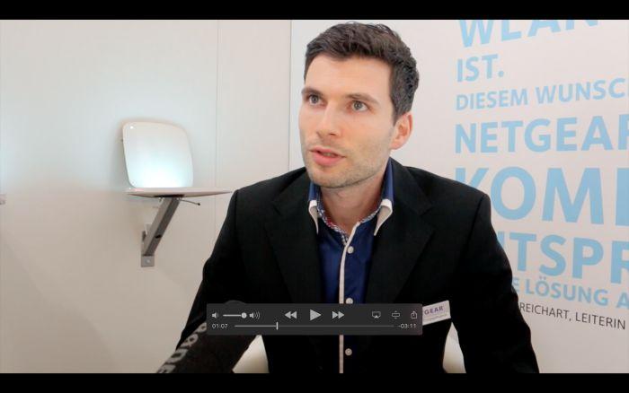 """Videochat: """"Netgear bringt neue Multispeed-Switches"""""""