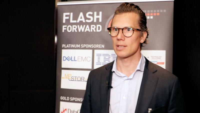 """FlashForward-Talk: """"Flash ist vor allem für read-intensive Anwendungen interessant"""""""