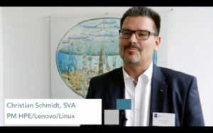 Christian Schmidt auf dem SVA VirtualizationDay 2017 in Hamburg