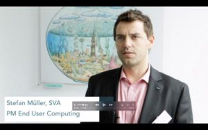 Stefan Müller auf dem SVA VirtualizationDay 2017 in Hamburg