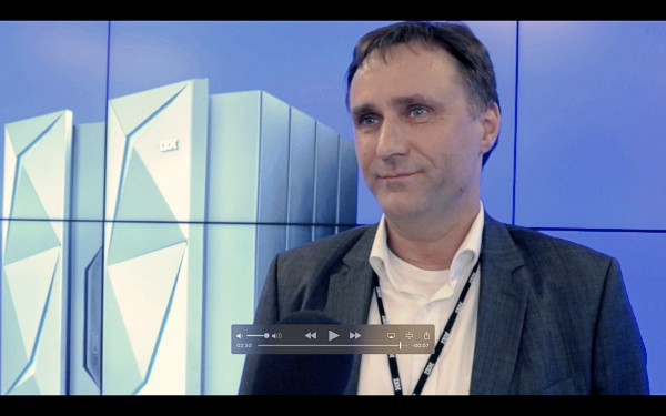 Axel Panten von der R+V Versicherung über IBM-Mainframes und die IBM z14