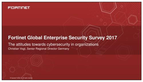 Fortinet-Umfrage: CEOs unterschätzen IT-Sicherheit ihres Unternehmens nach wie vor 1