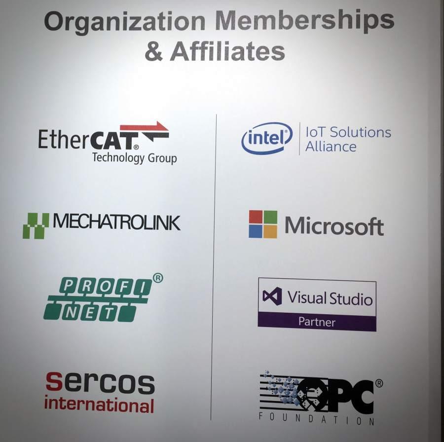 TenAsys auf der Embedded World 2018 - TenAsys Mitgliedschaften in der OPC Foundation und Co.