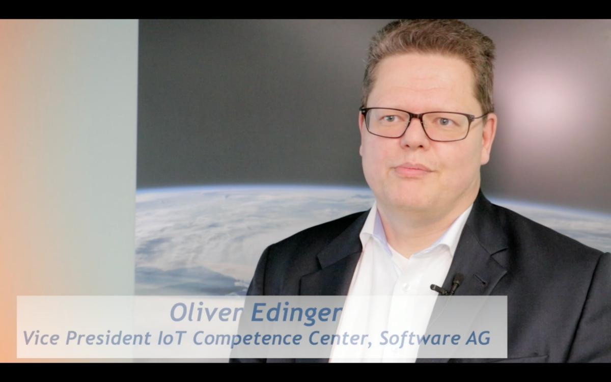 Oliver Edinger von der Software AG zum Internet der Dinge