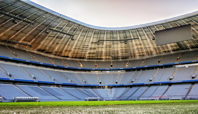 Allianz Arena des FC Bayern setzt auf intelligente Technik von Siemens