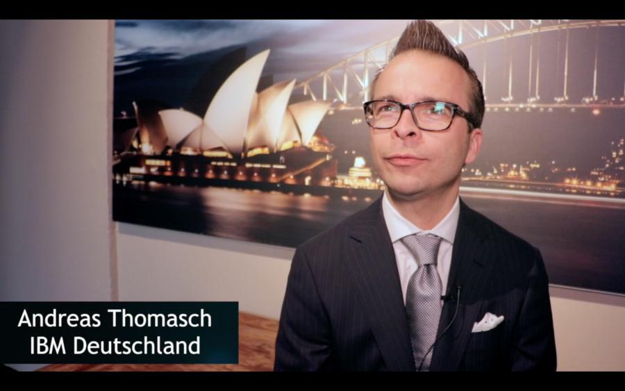 Andreas Thomasch über IBM z14 ZR1 und ihre Roadshow