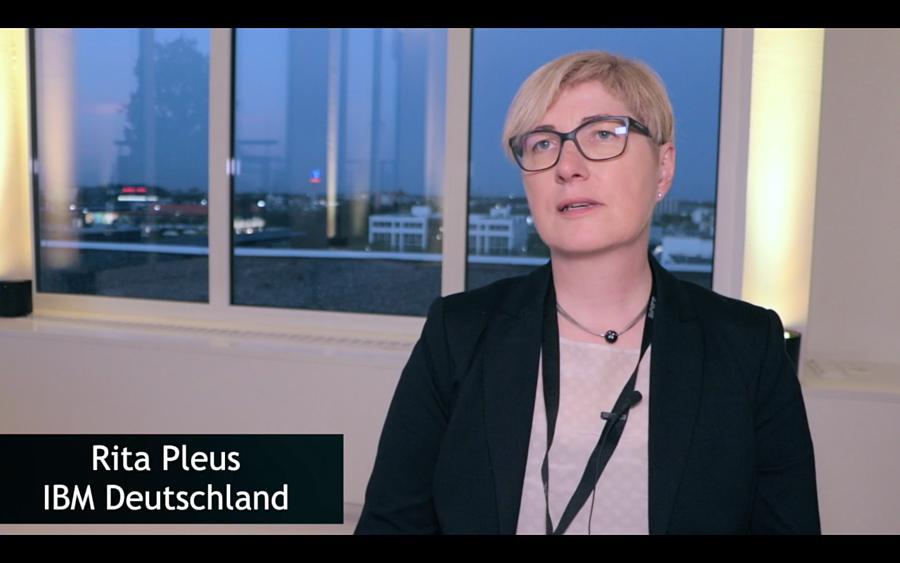 Rita Pleus über Sicherheitsvorkehrungen auf der IBM Mainframe