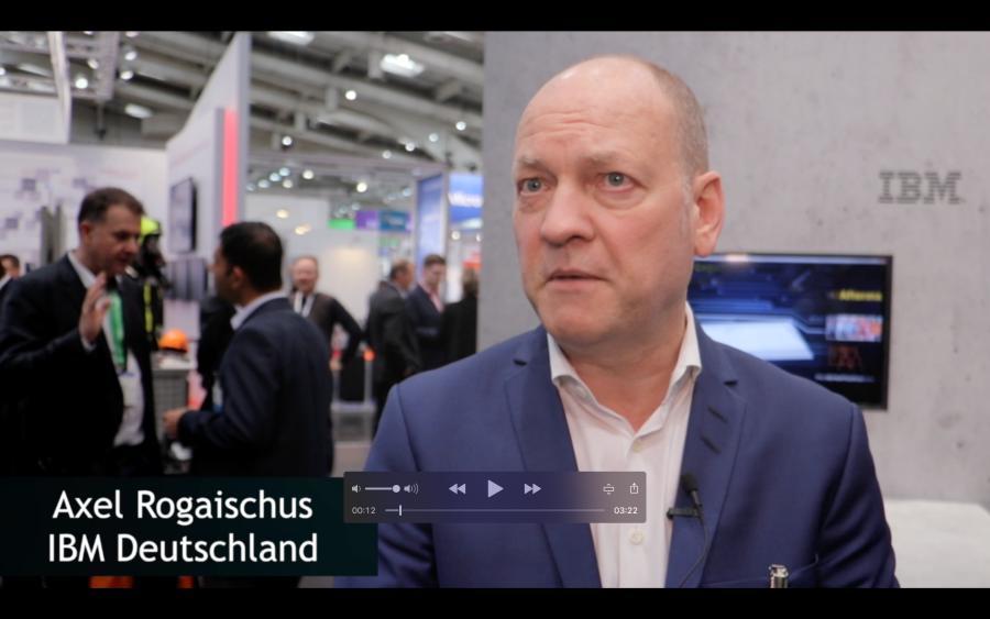 Axel Rogaischus von IBM über Blockchain, Digital Twins und Künstliche Intelligenz