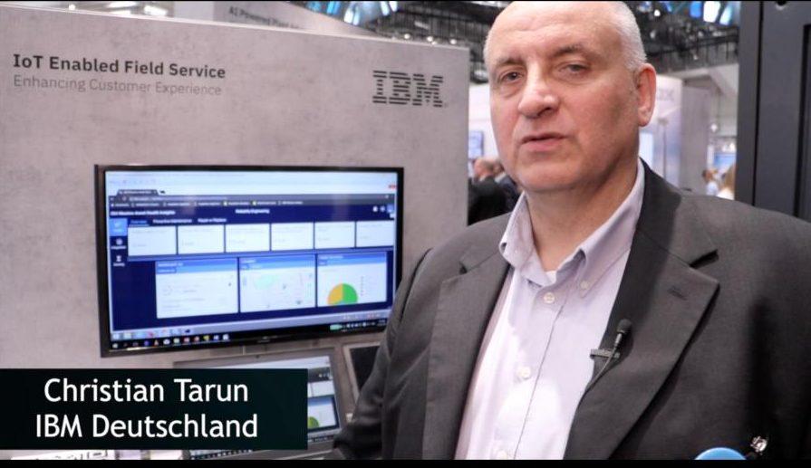 Christian Tarun (IBM) über digitalen Service-Support