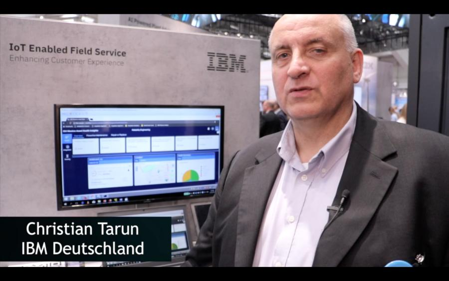 Christian Tarun (IBM) über digitalen Service-Support