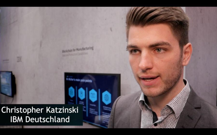 Christopher Katzinski zur Blockchain-gestützten Fertigung