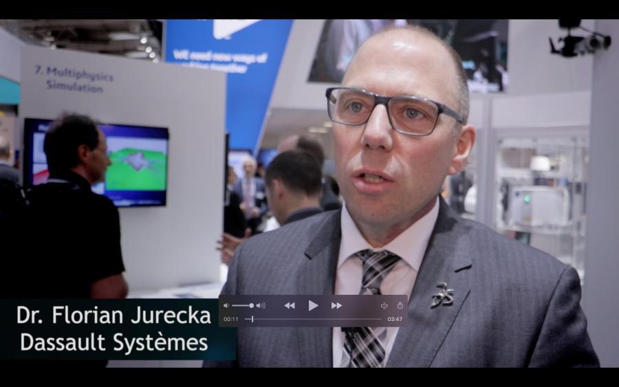Dr. Florian Jurecka (Dassault Systemes) über Digital Twins in der Simulation