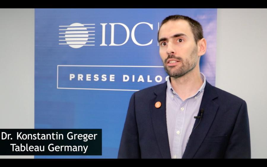 Dr. Konstantin Greger (Tableau Software) über Künstliche Intelligenz