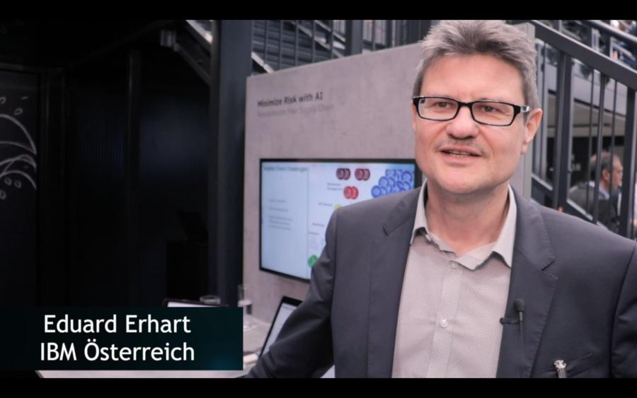 Eduard Erhart über IBM Supply Chain Insights