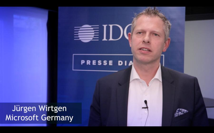Jürgen Wirtgen von Microsoft zum Thema Künstliche Intelligenz