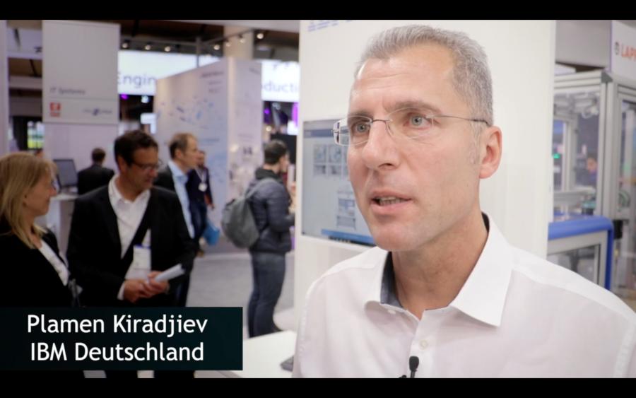 Plamen Kiradjiev über Smart Factory und IBM