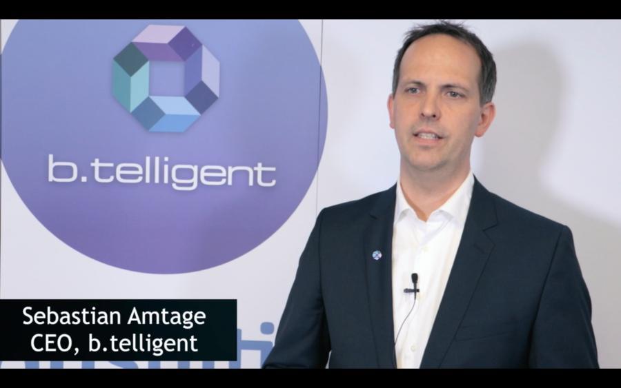 Sebastian Amtage (b.telligent) über den Status Quo der Künstlichen Intelligenz