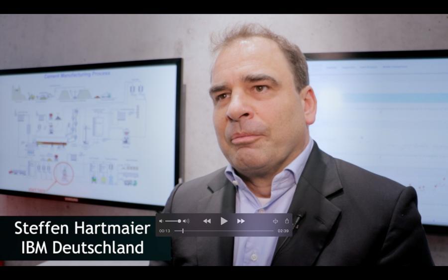 Steffen Hartmaier über IBM Plant Advisor