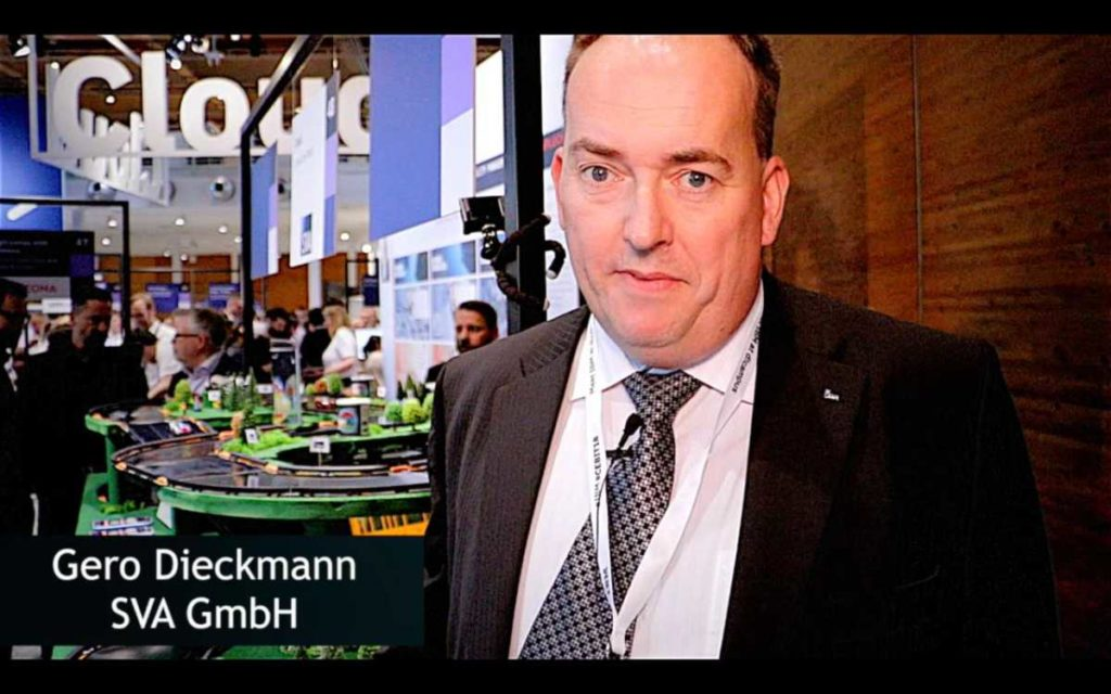 Gero Dieckmann über die SVA GmbH auf der CEBIT 2018
