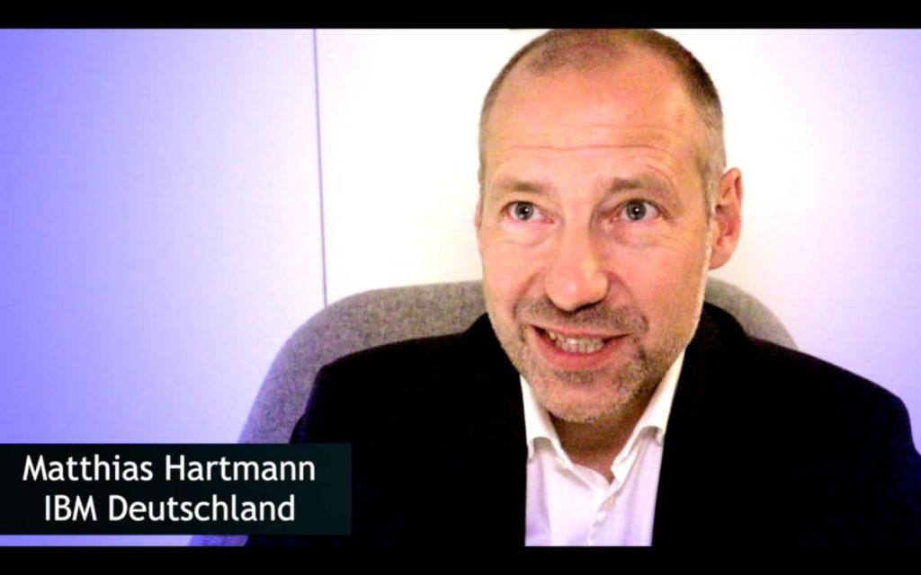 Matthias Hartmann (IBM) über die digitale Transformation