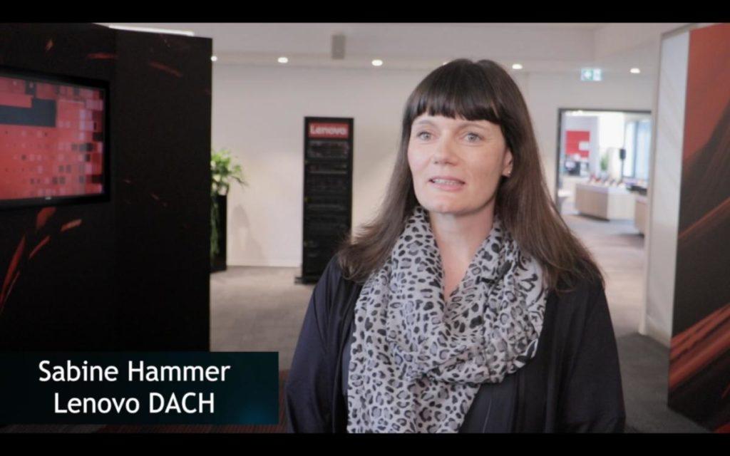 Sabine Hammer von Lenovo