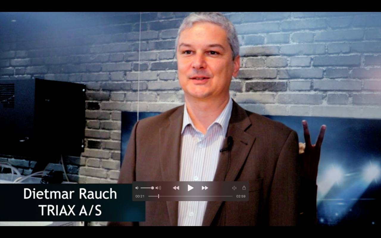 Dietmar Rauch über TRIAX Kopfstellensysteme