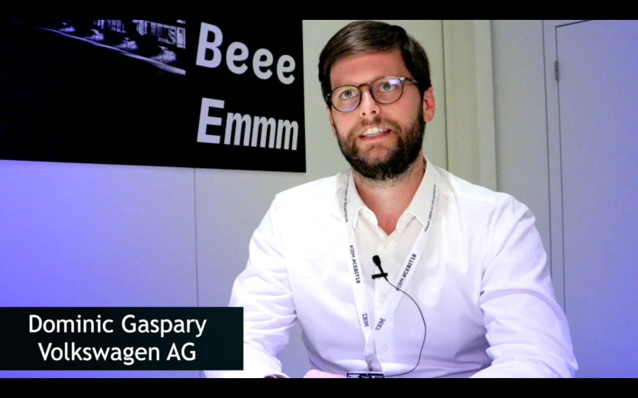 Dominic Gaspary, Volkswagen AG, über VW We Experience