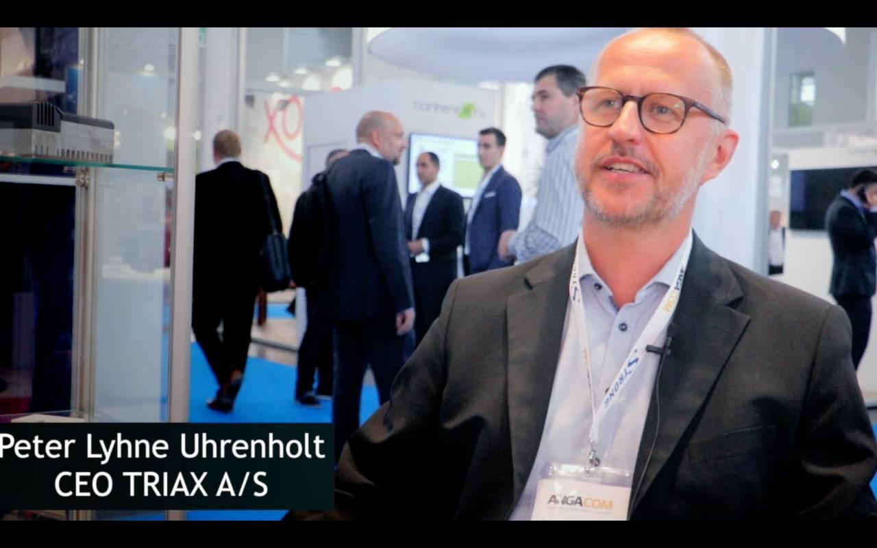 Peter Lyhne Uhrenholt, TRIAX, about TRIAX A:S