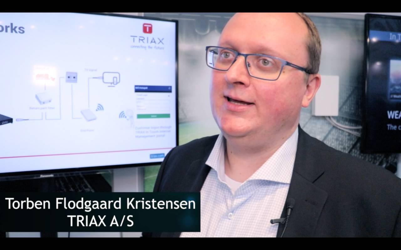 Torben Flodgaard Kristensen, TRIAX, über Ethernet over Coax