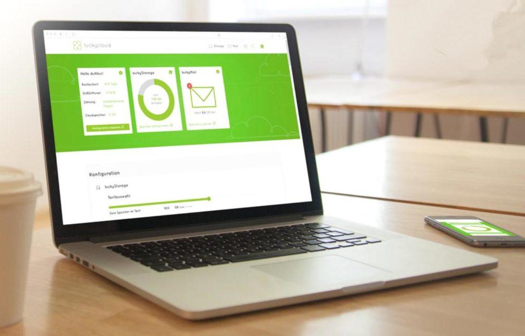 luckycloud bietet eine sichere und komfortable Cloud-Umgebung