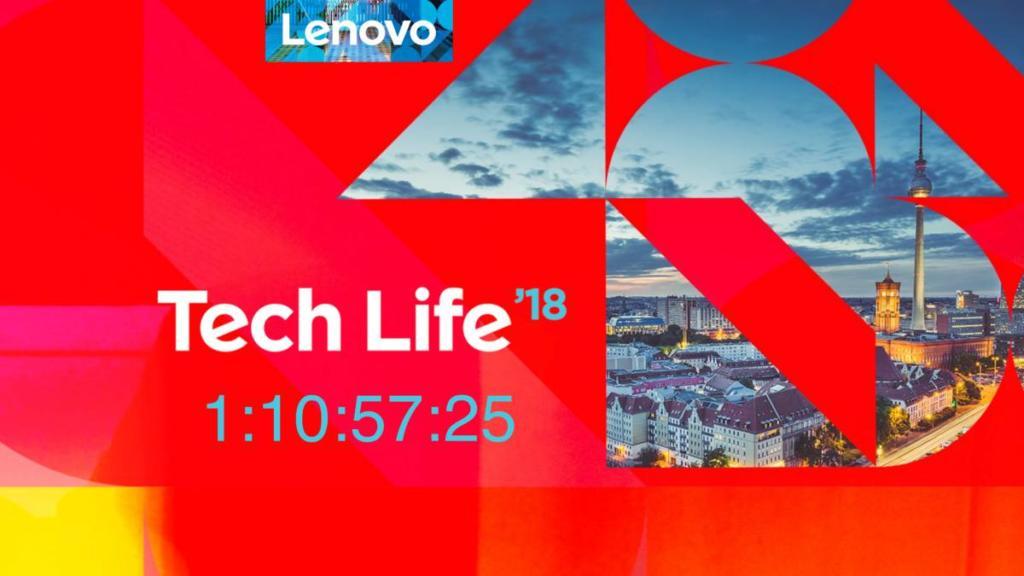 Auf der Lenovo TechLife 2018 gibt es viele Neuheiten zu bestaunen