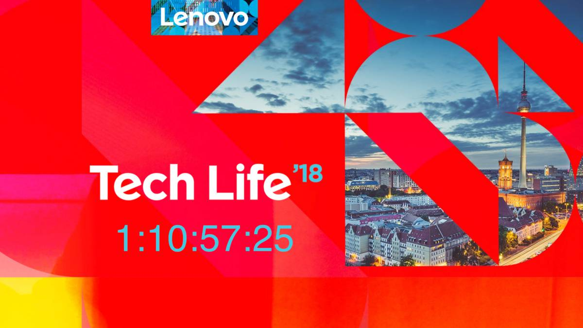 Lenovo TechLife 2018