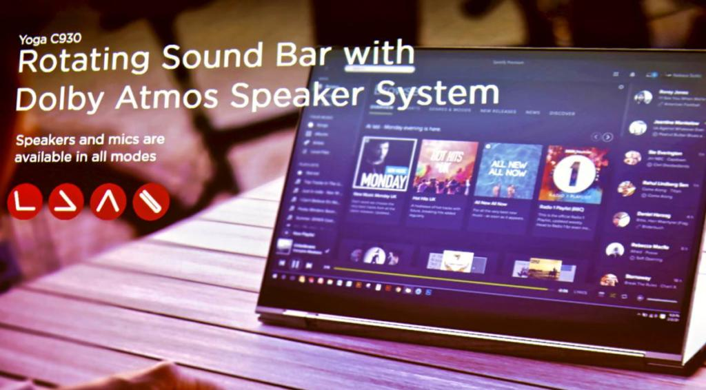Dolby Atmos ist die neue Zauberformel, die nach und nach in allen Lenovo-Geräten für den Wow-Audio-Faktor sorgen soll