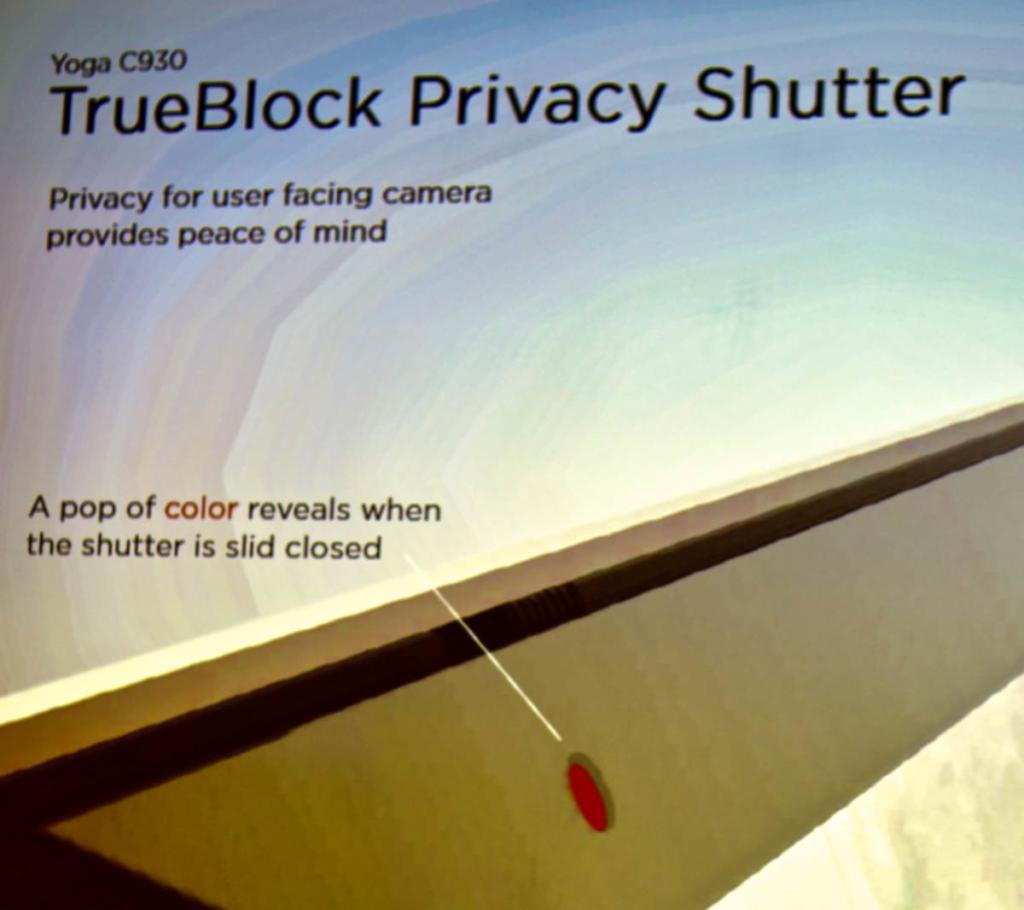In Zeiten von Video-Lauschangriffen ist so ein kleiner roter Plastikstöpsel über der integrierten Kamera ein schicke Erfindung