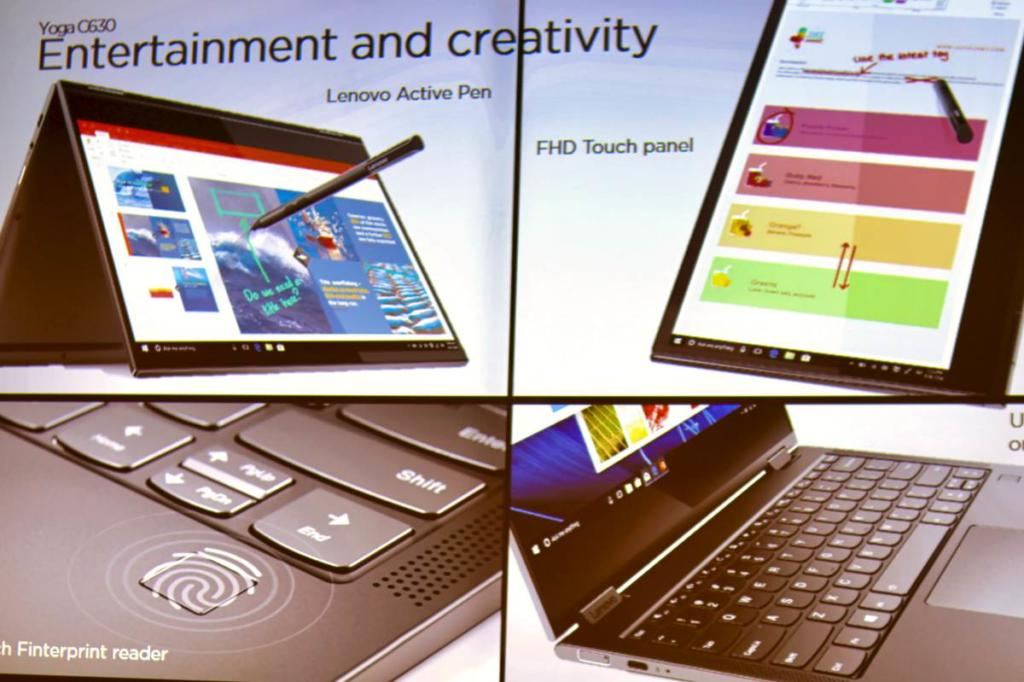 Mit dem Lenovo Yoga 630 kann man unterhalten, spielen, sicher sein und vieles mehr