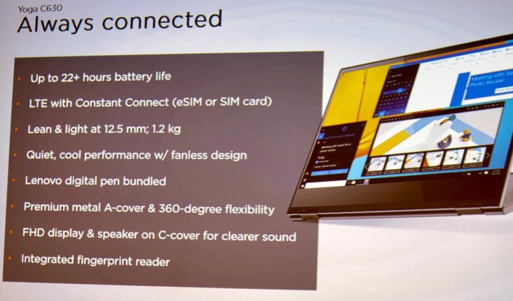 Das Lenovo Yoga Book C630 richtet sich vor allem an mobile Nomaden wie mich